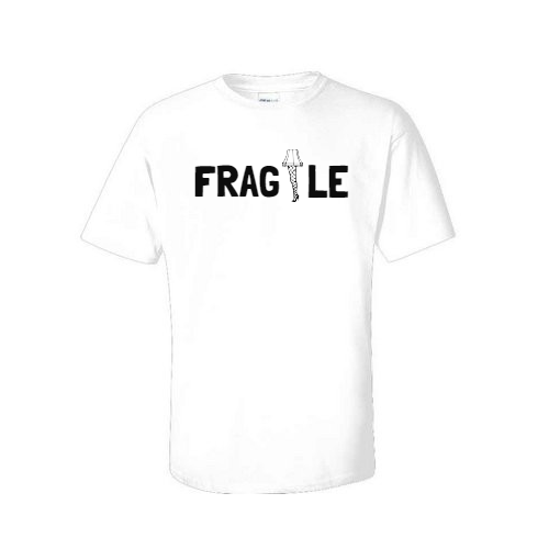 fragile lamp christmas t shirt