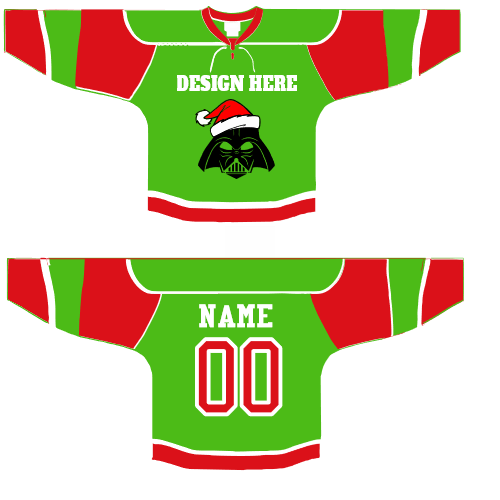 Darth Vader Christmas Hockey  Jerseys