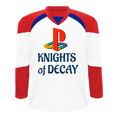 Play Station Gaming Hockey Jersey
