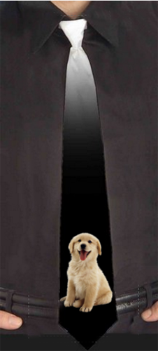 Custom Pet Picture NeckTie | Design Your Own | No Min