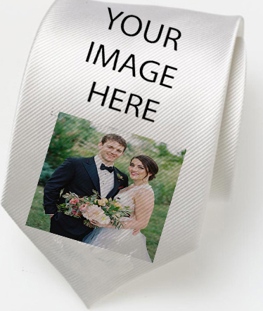 Custom  Ties for Wedding |  Design Yours - Fast Shipping