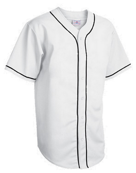 Custom Full button pipeBaseball jersey